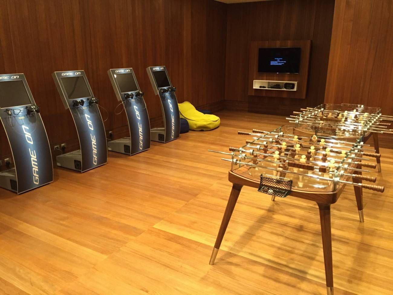 Sala VIP Al Mourjan Business Class da Qatar Airways – Aeroporto de  #C57C06 1300 974