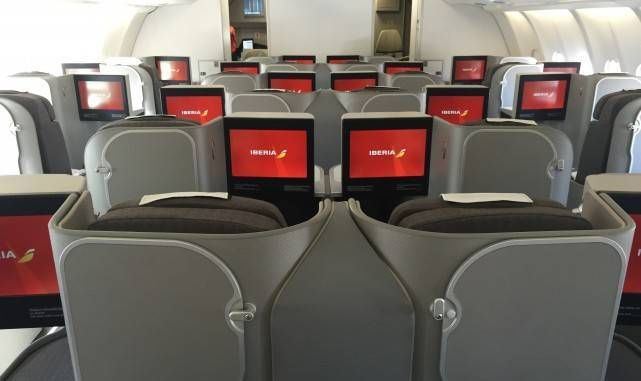 iberia a330 business plus classe executiva