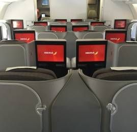 Classe Executiva da Iberia no A330-300