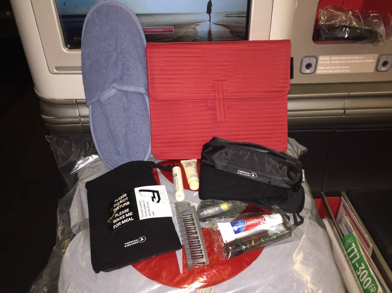 turkish airlines b777-300 business class executiva