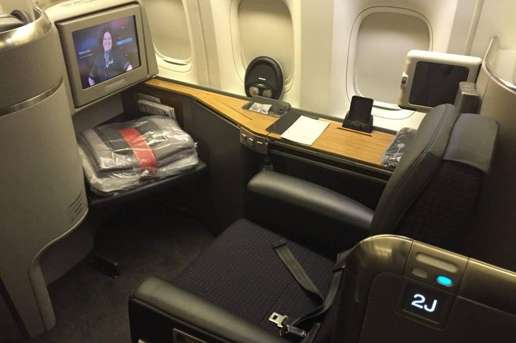Vai Viajar De Primeira Classe Com A American Airlines P