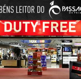 NOVIDADE! Leitores do Passageiro de Primeira tem desconto e benefícios nas lojas do Duty Free