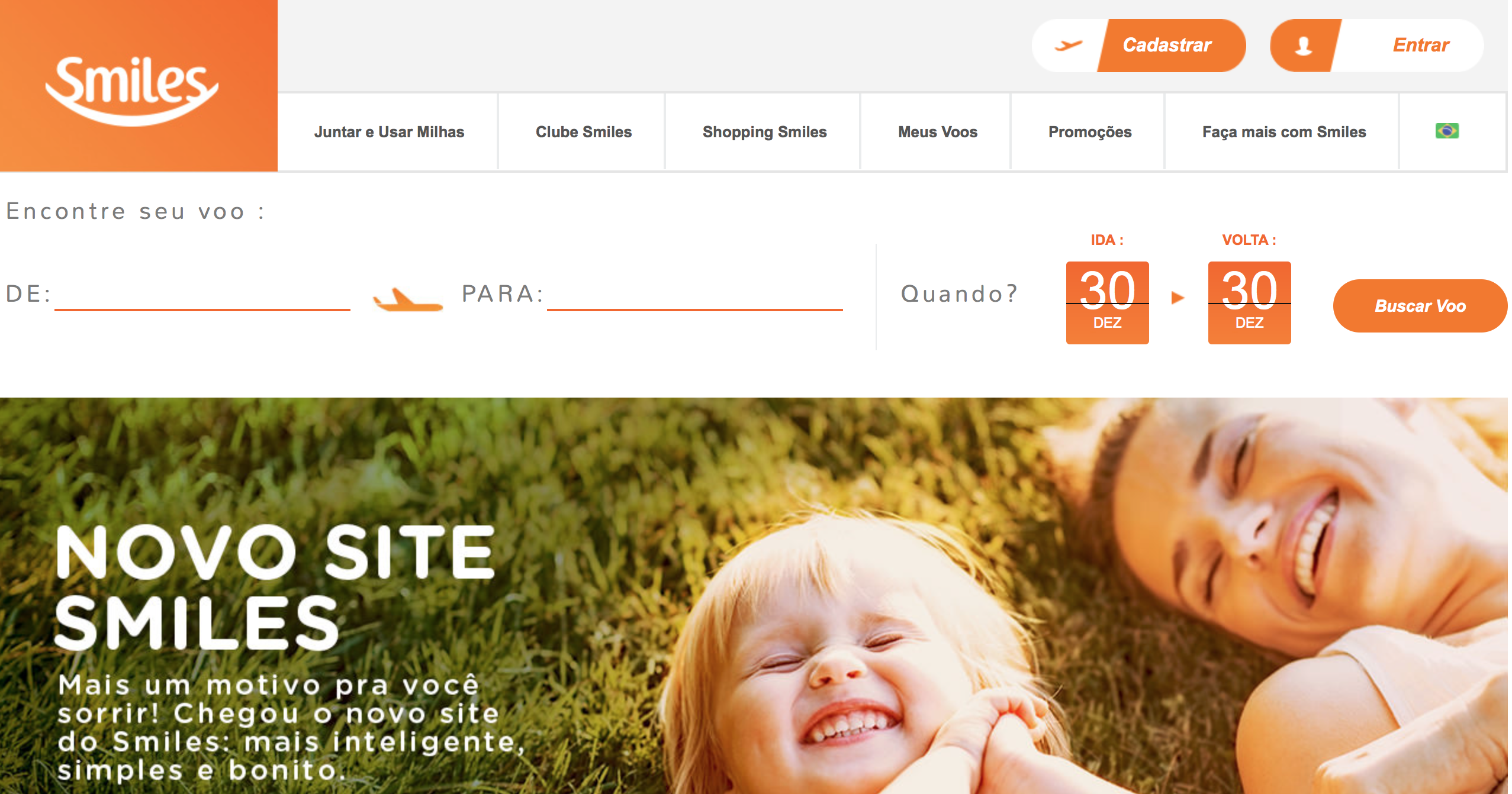 novo site smiles