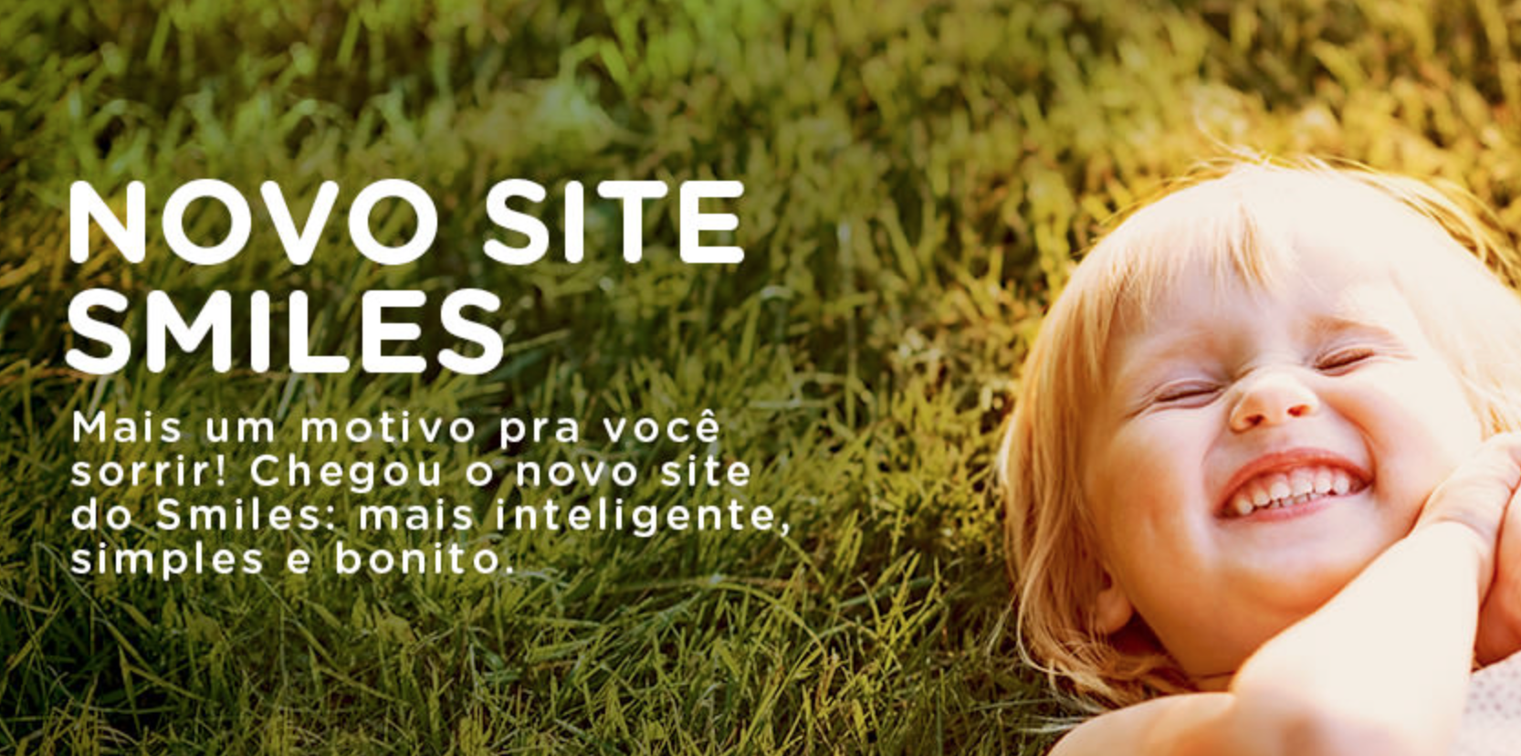 Novo site do Smiles está no ar