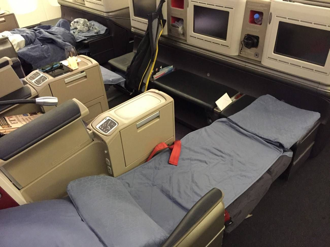 Turkish B777 business class