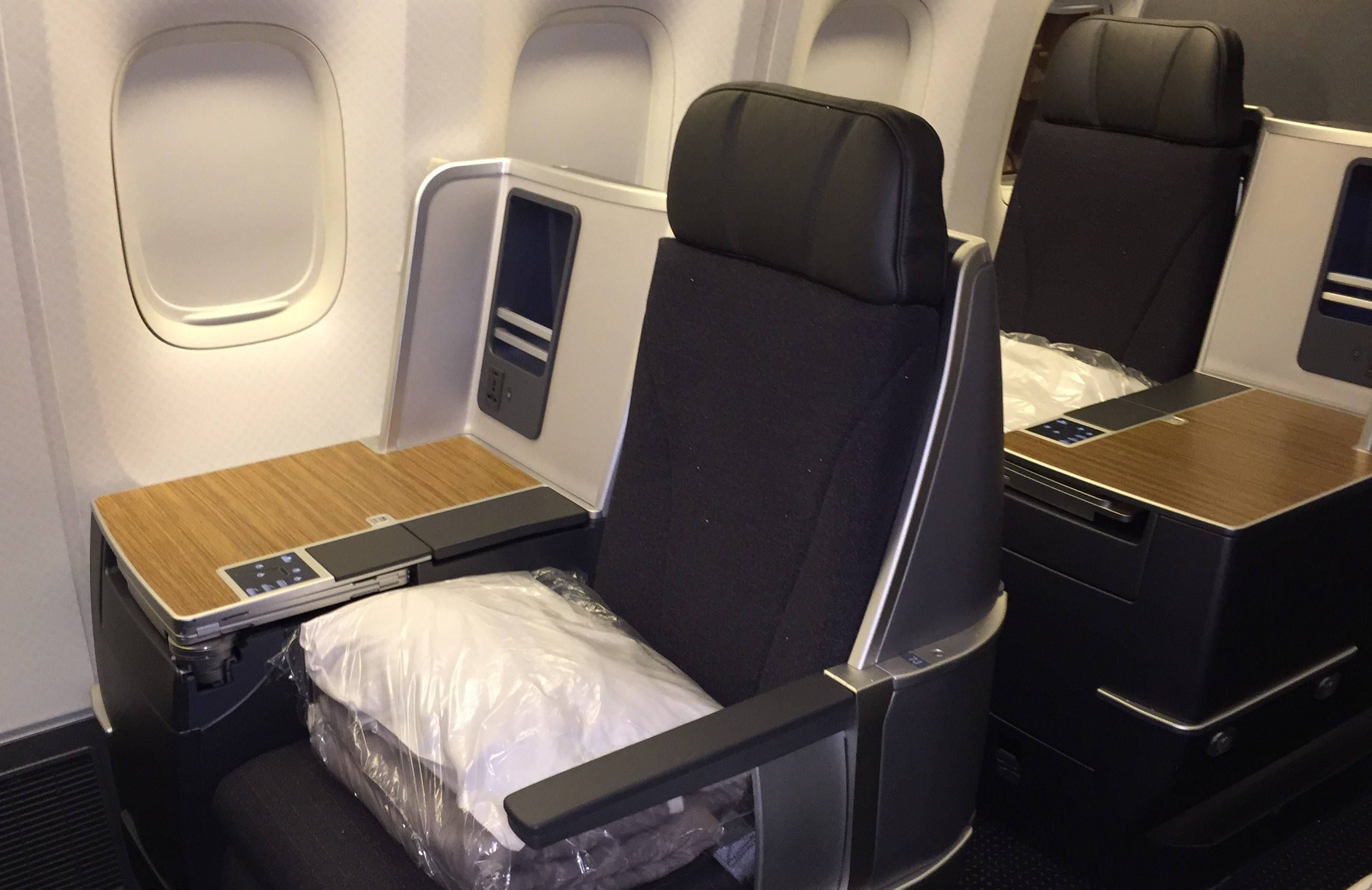 american airlines classe executiva b767-300 nova new business class passageirodeprimeira