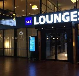 Sala VIP SAS Business Lounge – Aeroporto de Copenhagen (CPH)