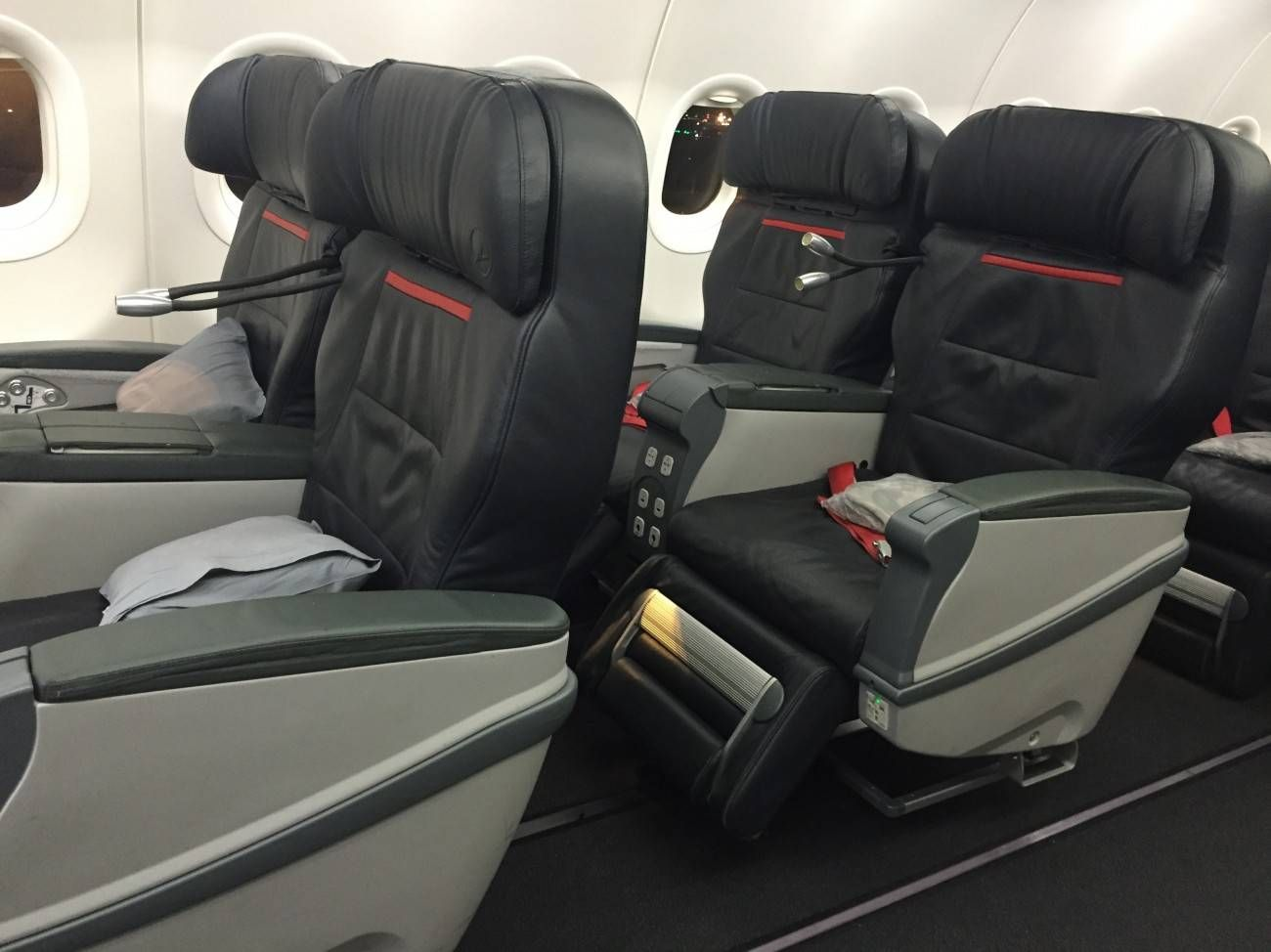 Turkish A321 Business Class