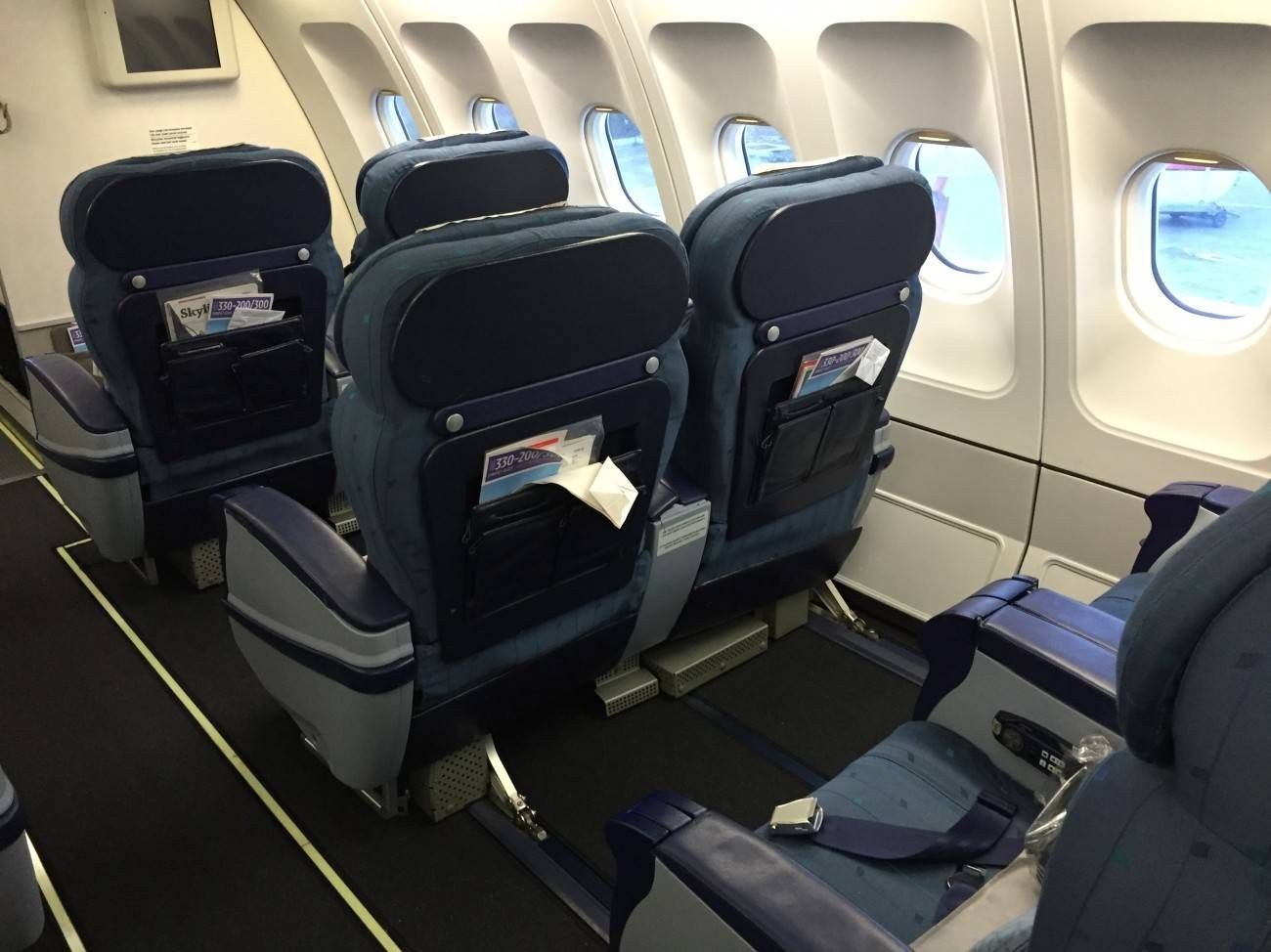 Turkish Airlines A330 Business Class