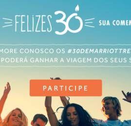 Marriott Rewards lança concurso para comemorar seus 30 anos