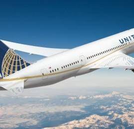 United Airlines vai voar com p B787 para o Brasil à partir de Abril