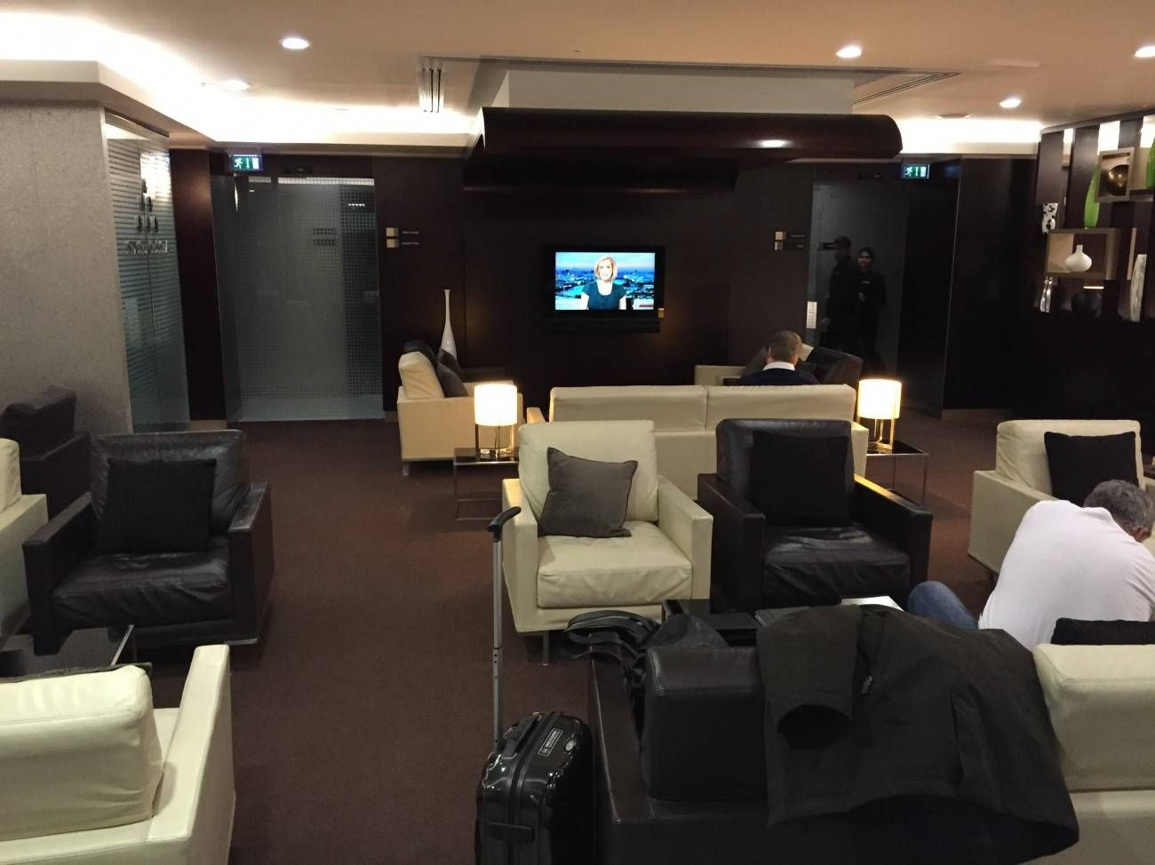 Etihad Lounge London Heathrow - Passageirodeprimeira 17