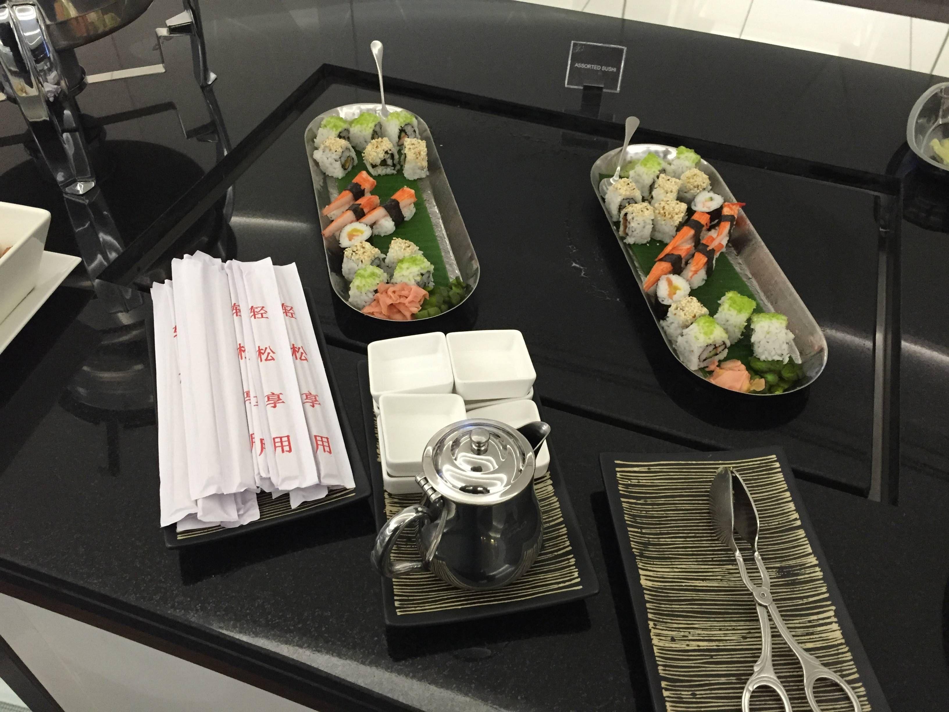 Etihad Premium Lounge Abu Dhabi - Passageiro de Primeira13