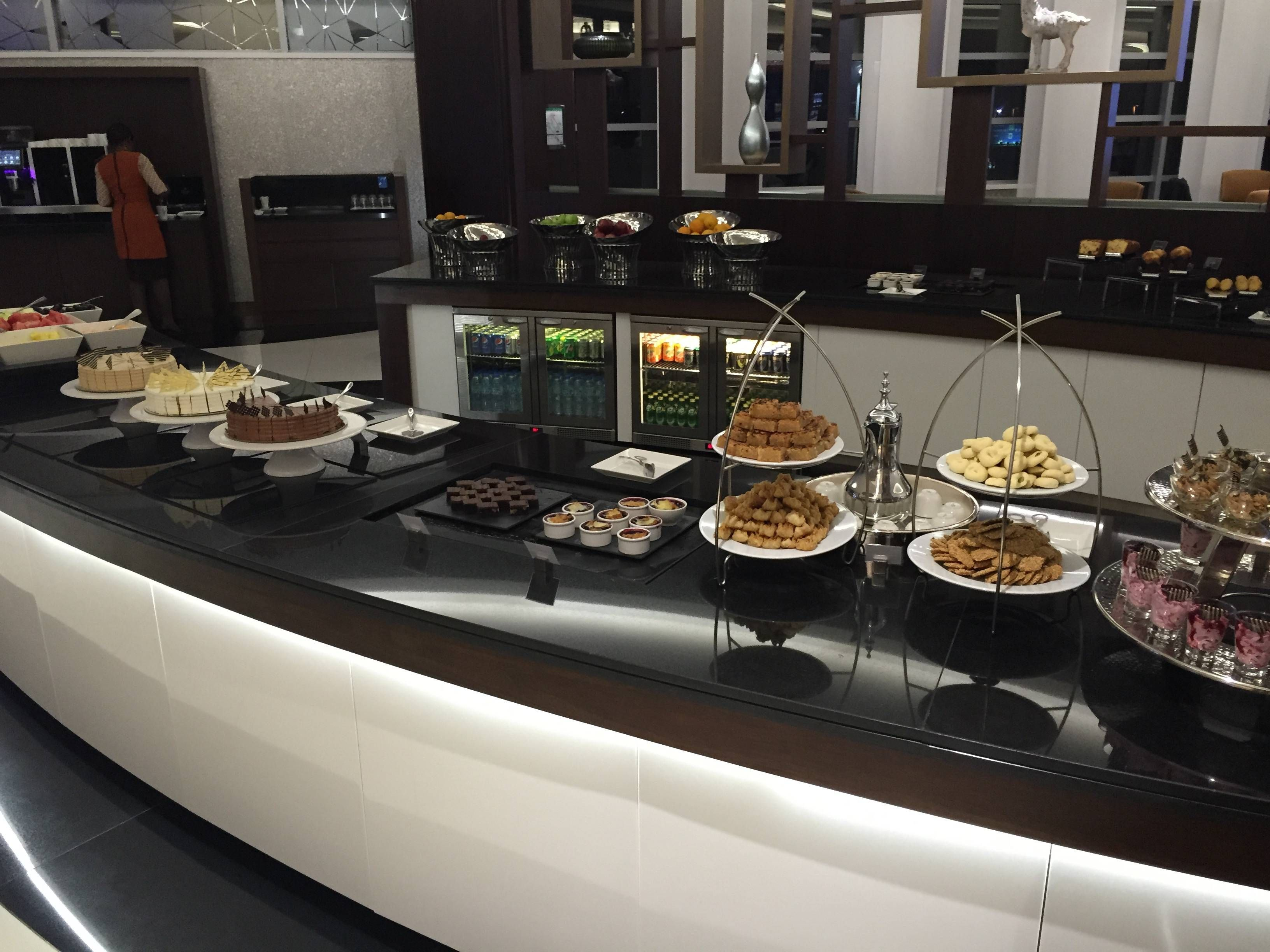 Etihad Premium Lounge Abu Dhabi - Passageiro de Primeira17