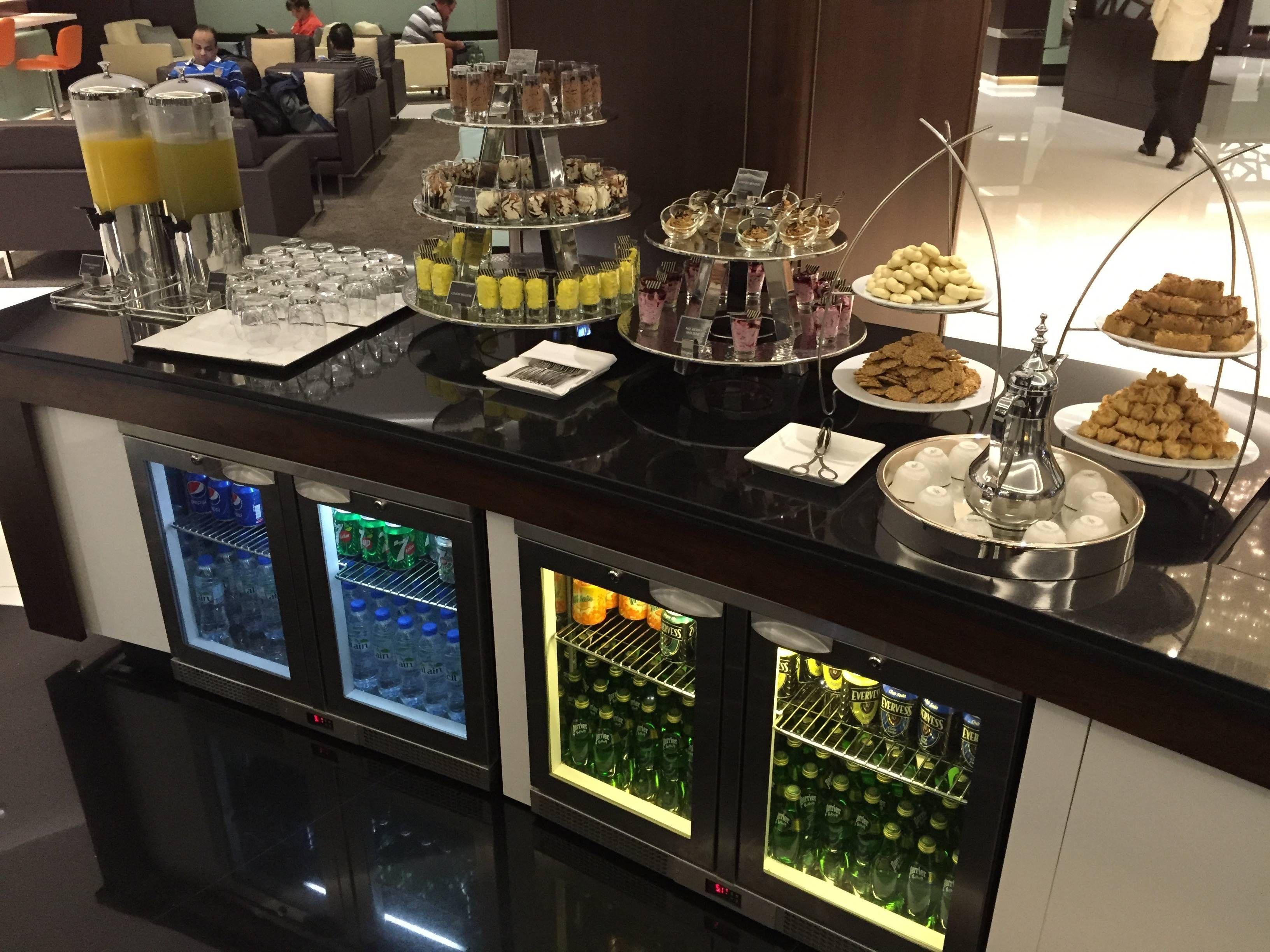 Etihad Premium Lounge Abu Dhabi - Passageiro de Primeira20