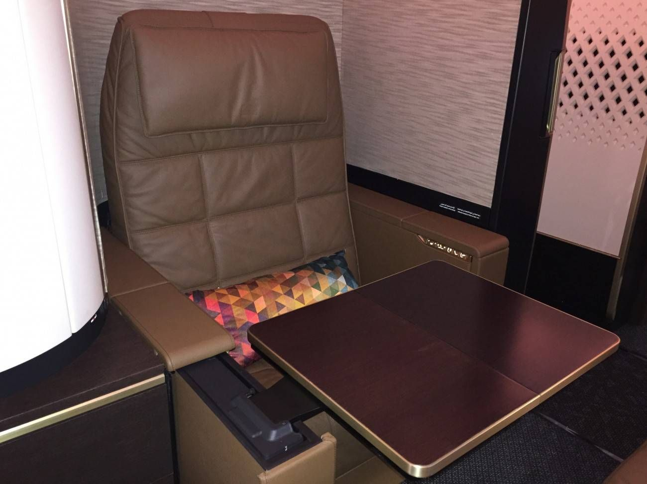 First Class Apartment A380 Etihad - PassageirodePrimeira32