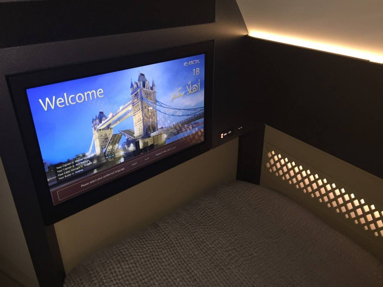 First Class Apartment A380 Etihad - PassageirodePrimeira38