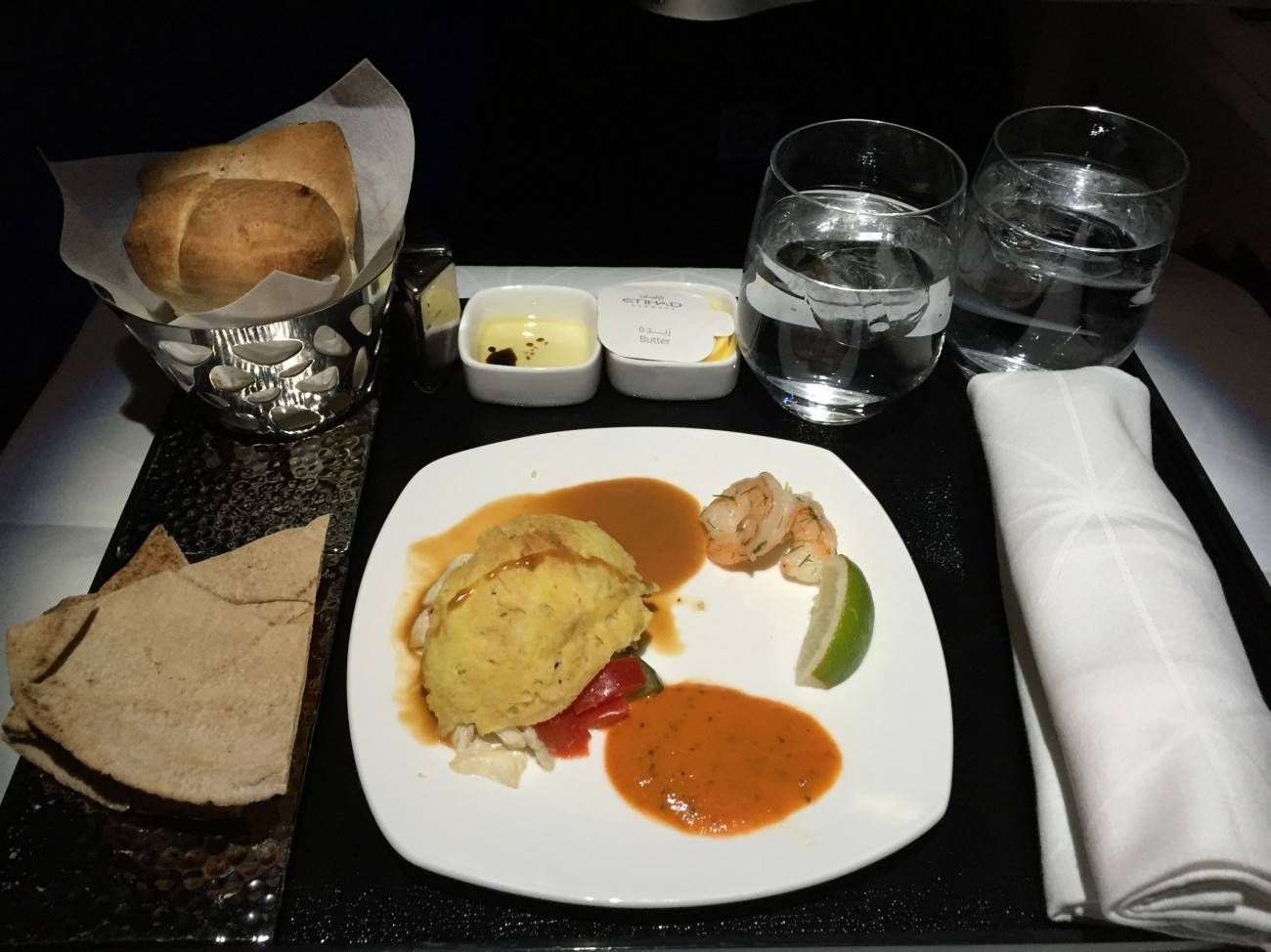 Jet Airways A330 Business Class Etihad Passageirodeprimeira -033