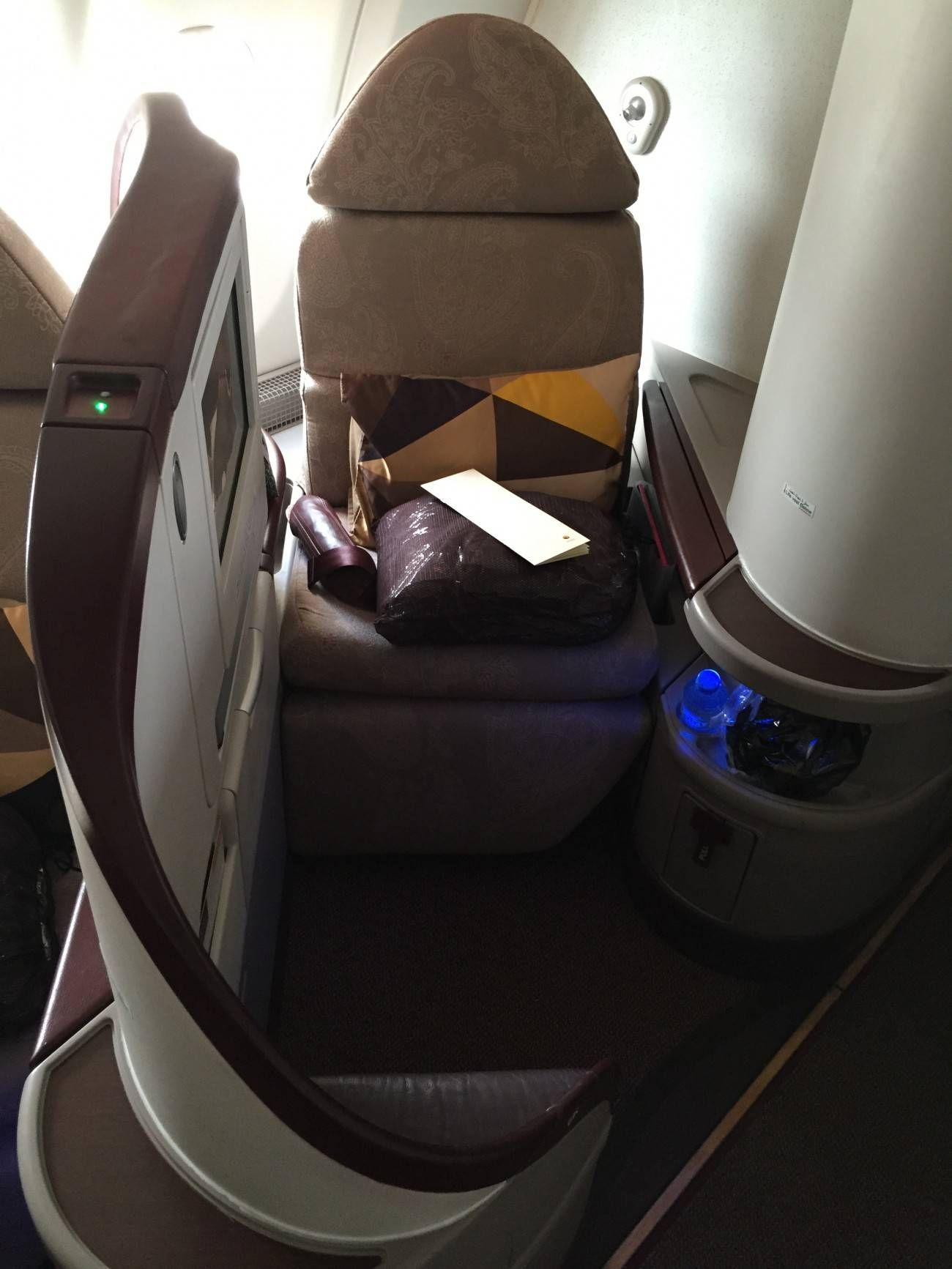 Jet Airways A330 Business Class Etihad Passageirodeprimeira -09