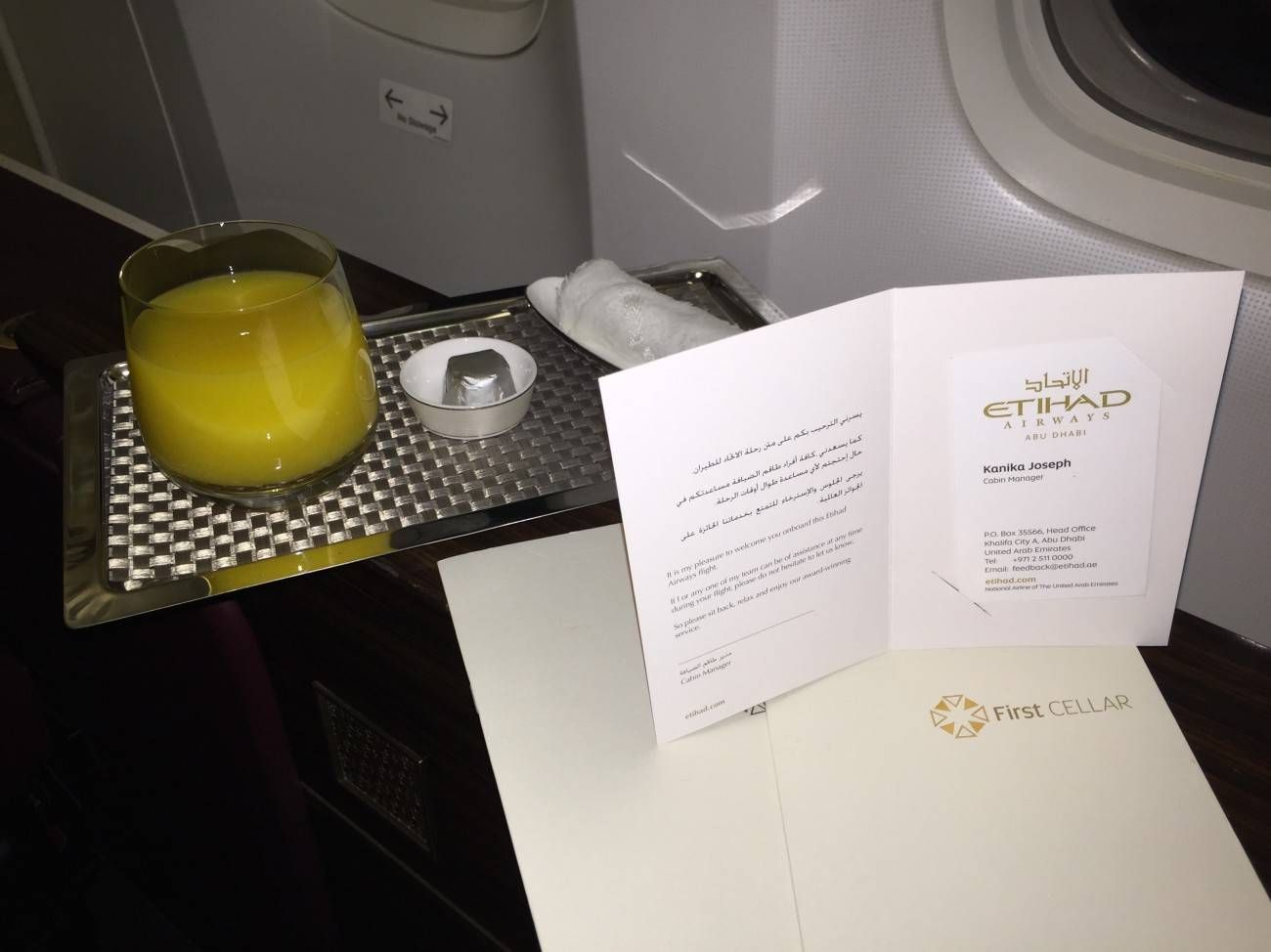 Jet Airways B777 First Class Etihad Passageiro de Primeira-07