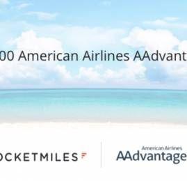 Ganhe 5.000 milhas extras no AAdvantage fazendo sua primeira reserva pelo Rocketmiles