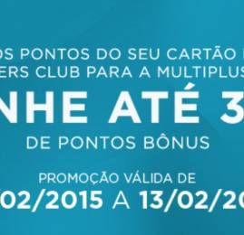 Promoção relâmpago: Multiplus oferece até 30% de pontos bônus na transferência de pontos de cartões Diners Club