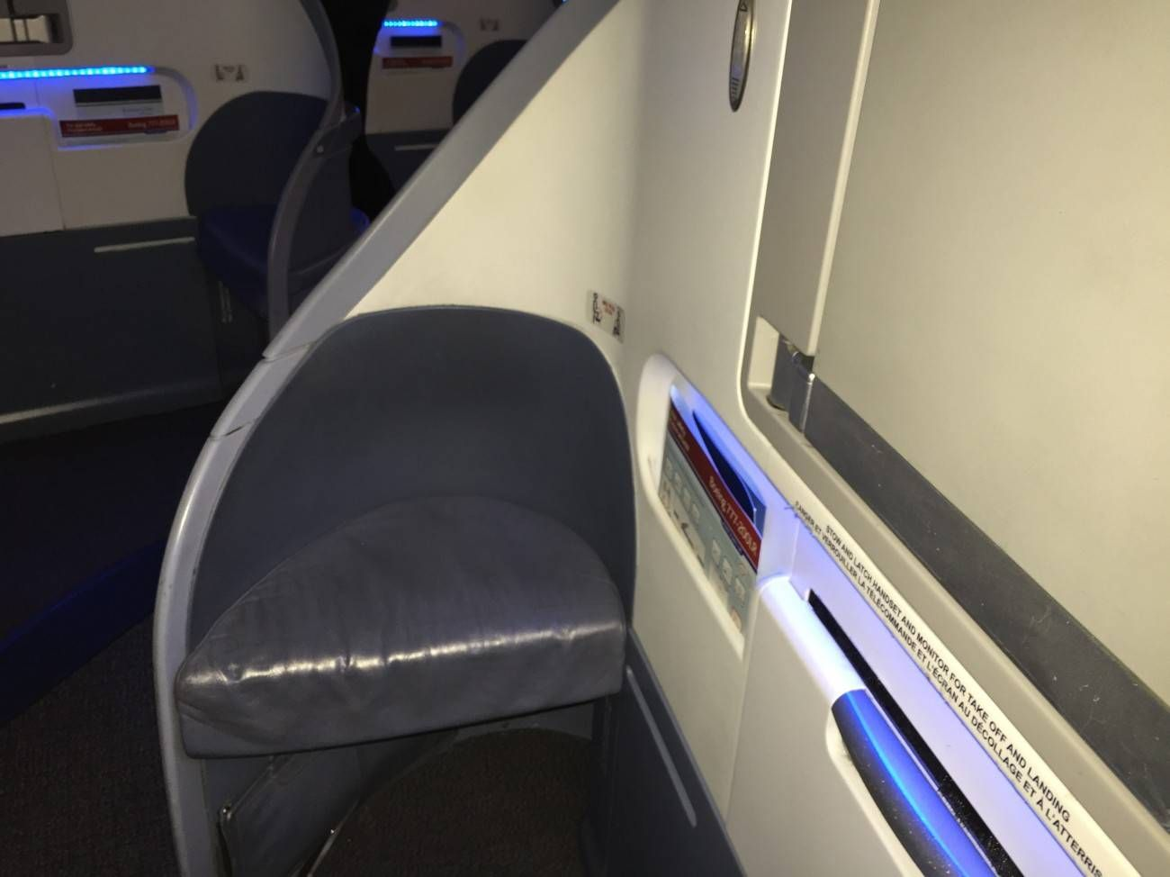 Air Canada B777 Business Class-07