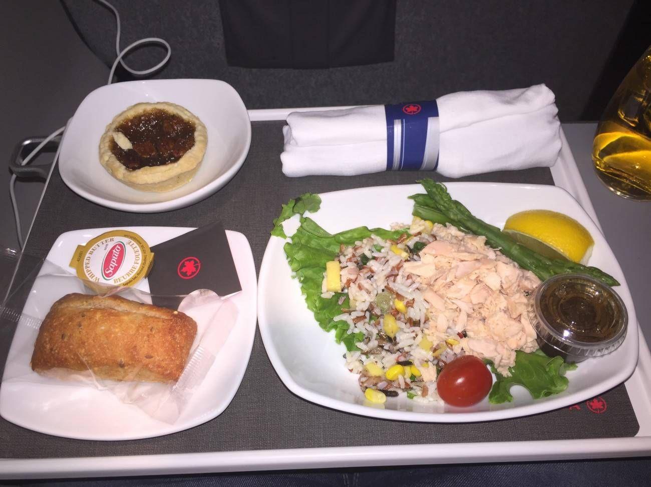 Air Canada Business Class CRJ-05