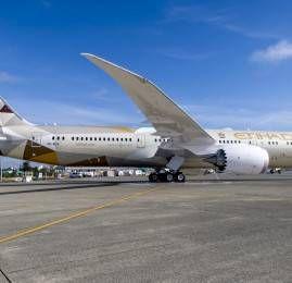 Etihad Airways vai ampliar oferta de serviço nos Estados Unidos com voos do Boeing 787 para Washington