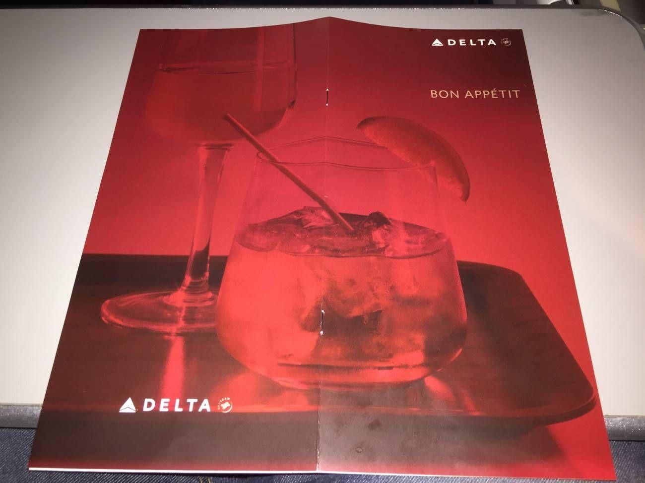 Delta Classe Executiva Business Class B777-016