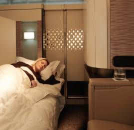 Viaje na luxuosa cabine First Class Apartment da Etihad por U$790