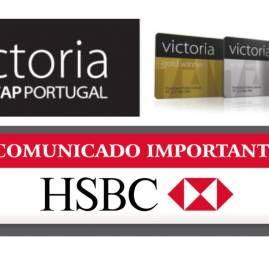 TAP Victoria altera regra de transferência para clientes HSBC
