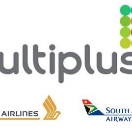 Multiplus lança parceria com South African Airways e Singapore Airlines para resgate em forma de pontos + dinheiro
