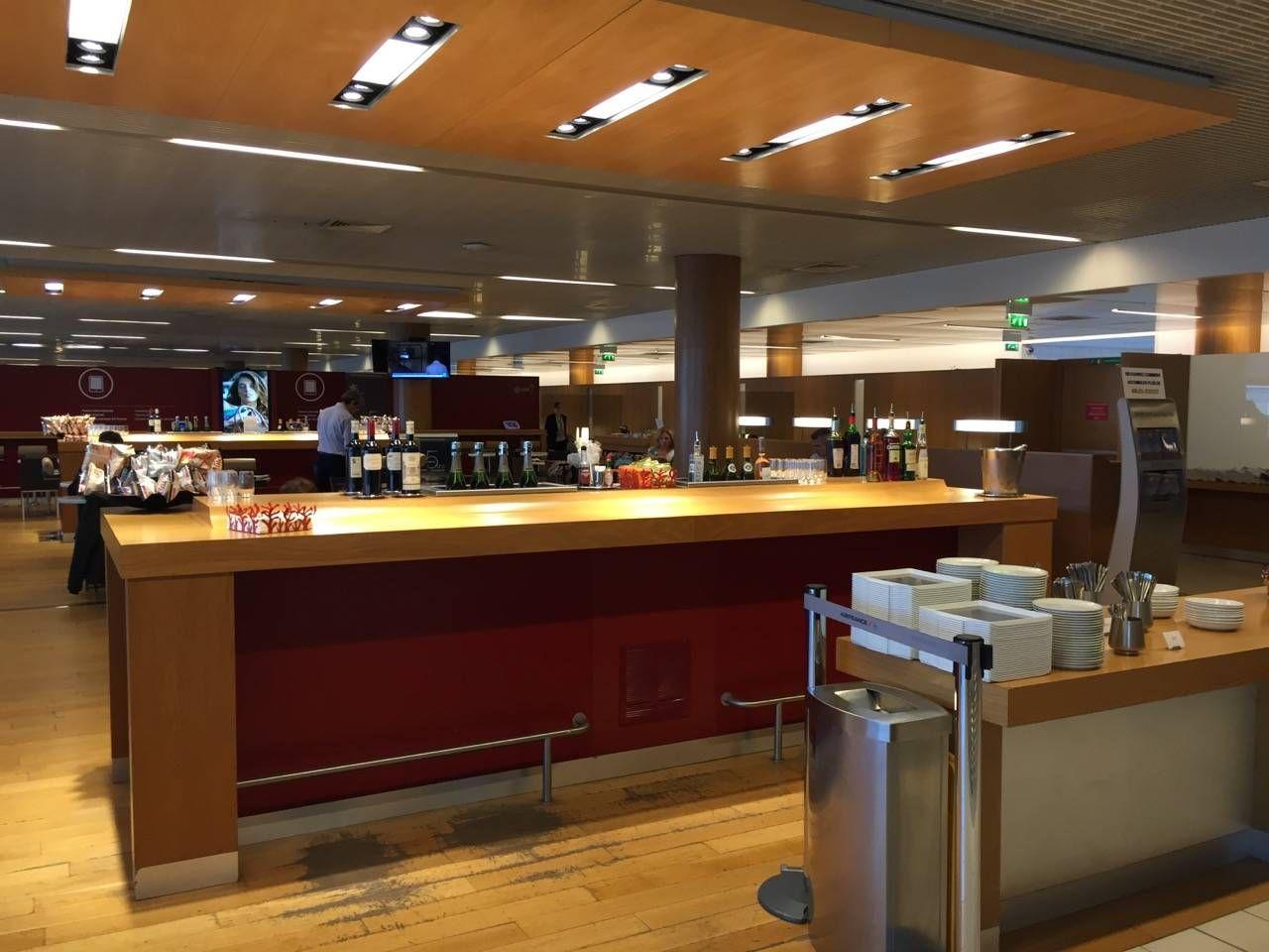 Air France Lounge Paris Terminal 2E-015