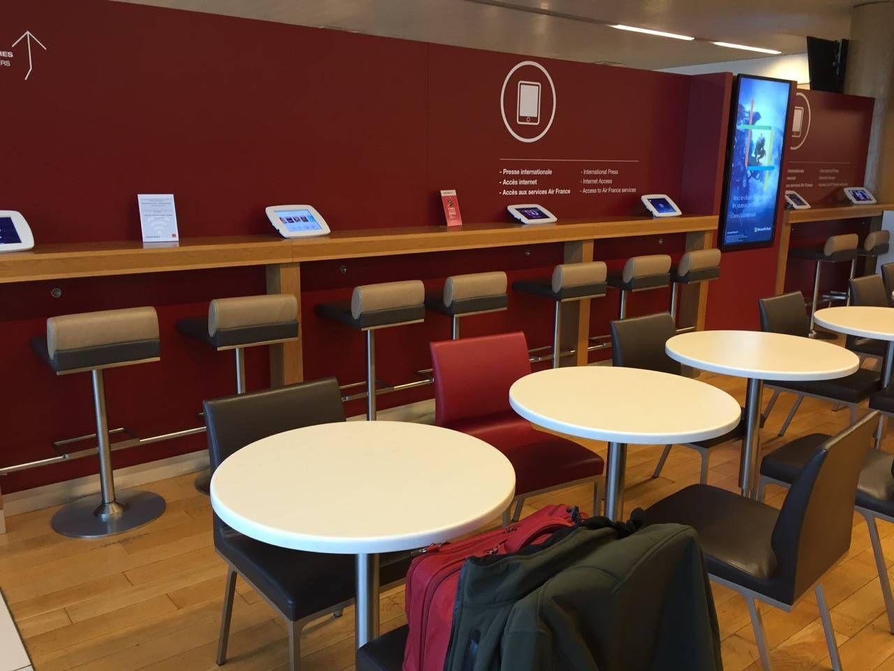Air France Lounge Paris Terminal 2E-05