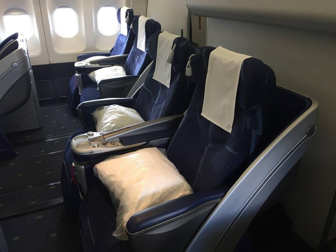 Classe Executiva TAP A330 Passageiro de Primeira-02