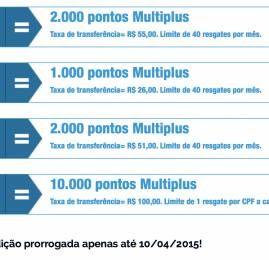KM de Vantagens prorroga promoção de transferência para Multiplus