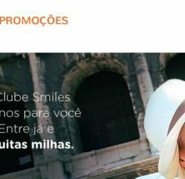 "Smiles lança 3 modalidades do ""Clube Smiles"""