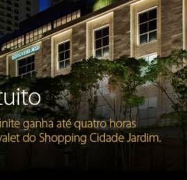 Portadores dos cartões Visa Infinite tem valet gratuito no shopping Cidade Jardim