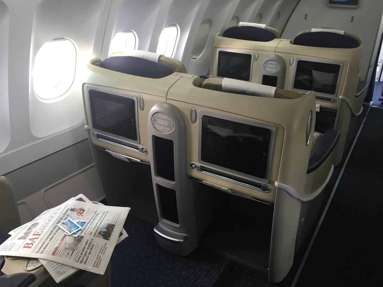 Aerolineas Argentinas Classe Executiva Business Class -02
