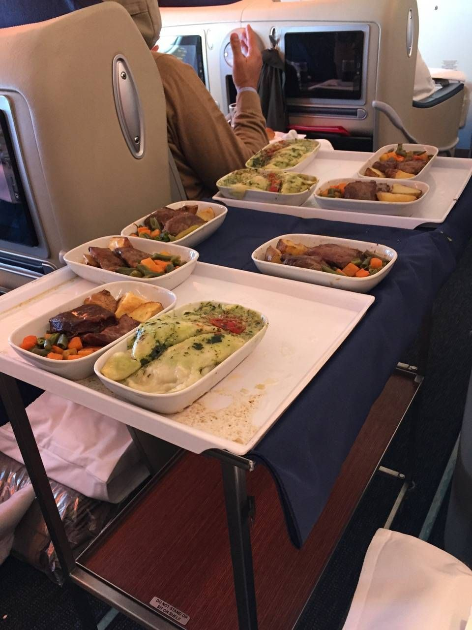 Aerolineas Argentinas Classe Executiva Business Class -028
