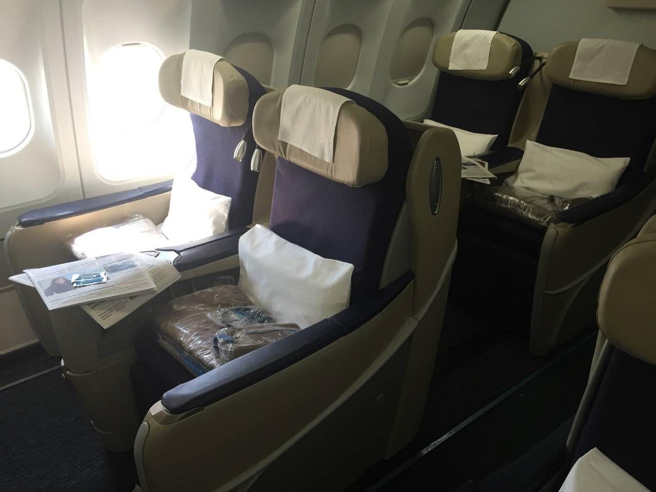 Aerolineas Argentinas Classe Executiva Business Class -04