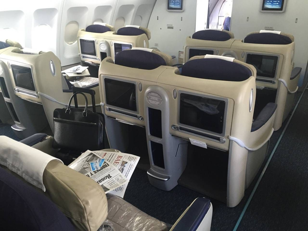 Aerolineas Argentinas Classe Executiva Business Class -05