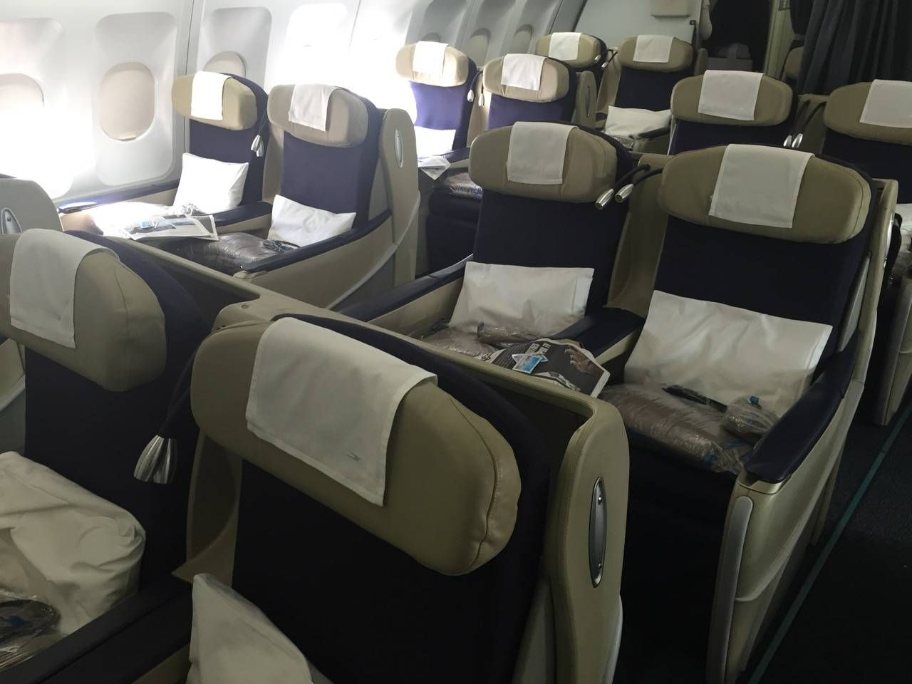 Aerolineas Argentinas Classe Executiva Business Class -07