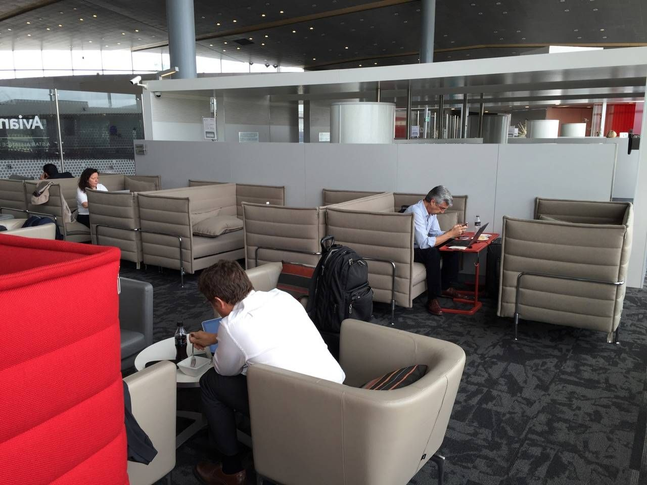 Avianca Lounge Bogota -029