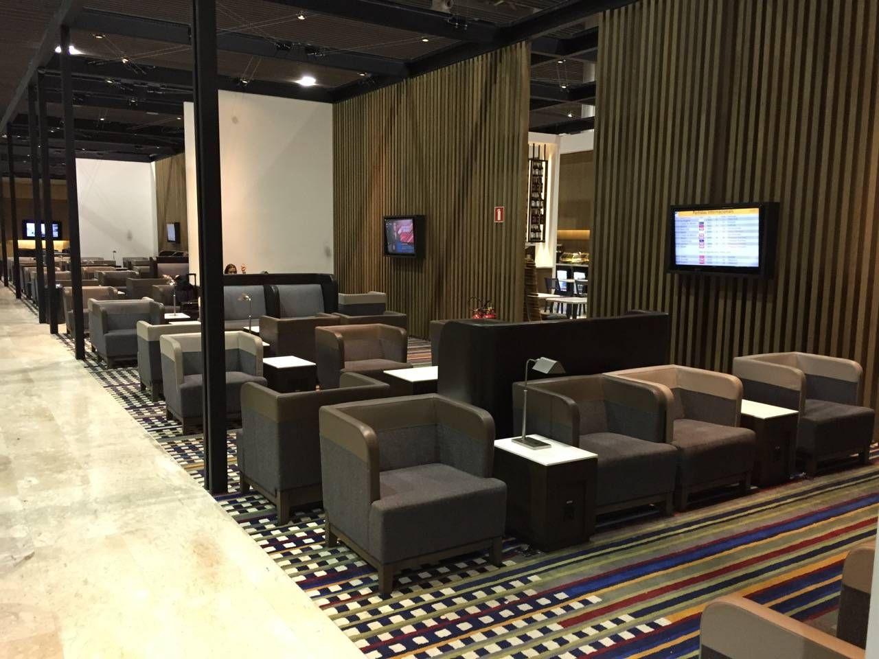 sala vip latam aeroporto de guarulhos gru terminal 3 passageiro de primeira. Black Bedroom Furniture Sets. Home Design Ideas