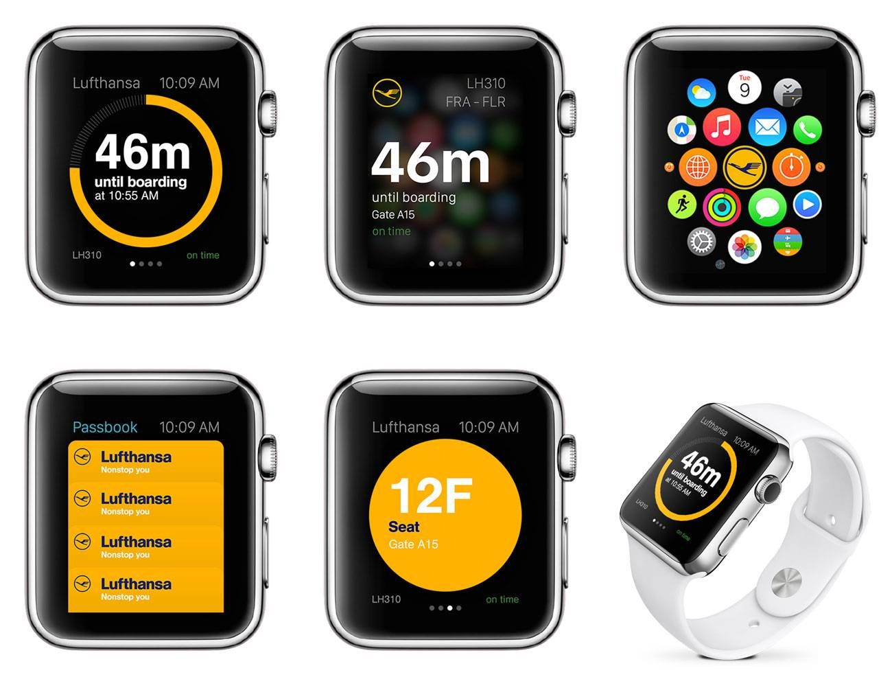 lufthansa apple watch