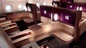 Viaje na Primeira Classe da Qatar ou Lufthansa por R$1.600,00