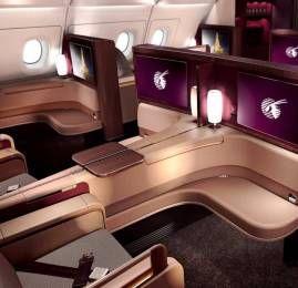 Exclusivo para clientes Bradesco: Voe na Primeira Classe da Qatar por 26.000 milhas