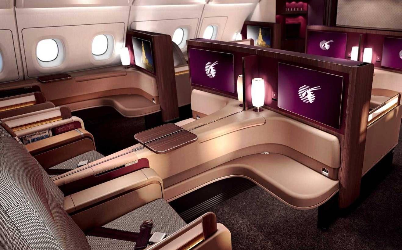 Voe na Primeira Classe da Qatar, Lufthansa, British ou Qantas por R$1.820,00!